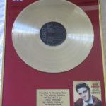 Elvis Presley framed gold LP - King Creole