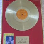Elvis Presley framed platinum LP - Rock N Roll