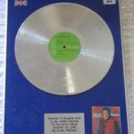 Elvis Presley framed platinum LP - Almost In Love