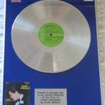 Elvis Presley framed platinum LP - C'mon Everybody