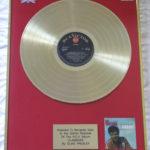 Elvis Presley framed gold LP - Clambake