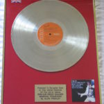 Elvis Presley framed platinum LP - From Elvis Presley Boulevard