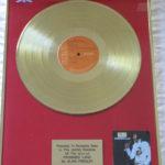 Elvis Presley framed gold LP - Promised Land