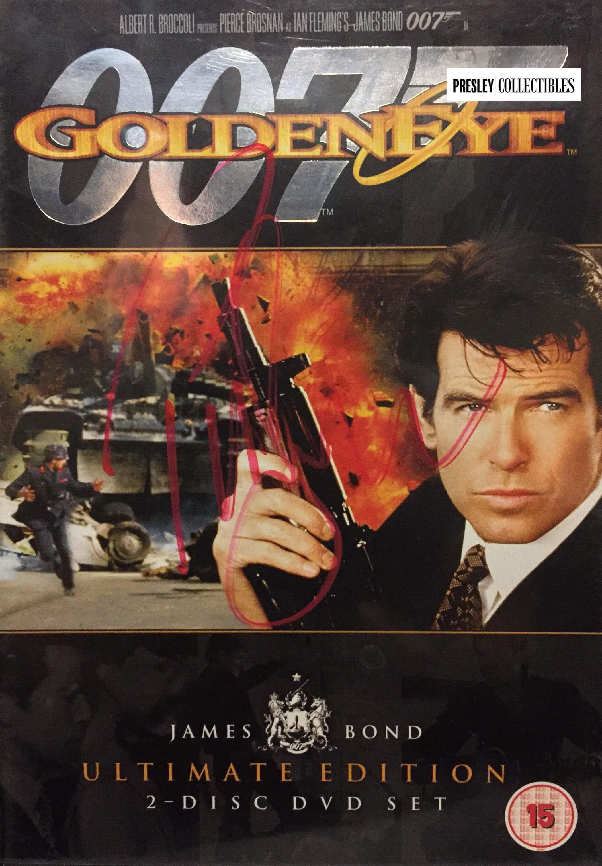 James Bond 007 Pierce Brosnan Irish Actor Film Producer Movie Star Poster