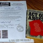Elvis Presley Personally owned and used Act of Anger book