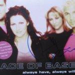 Linn Berggren hand signed Ace of Base Always Have, Always Will CD