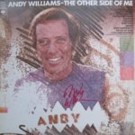 Andy Williams hand signed The Other Side Of Me LP