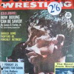 Rare hand signed copy of Boxing and Wrestling Magazine from December 1962