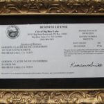 Claude Gordon Business License