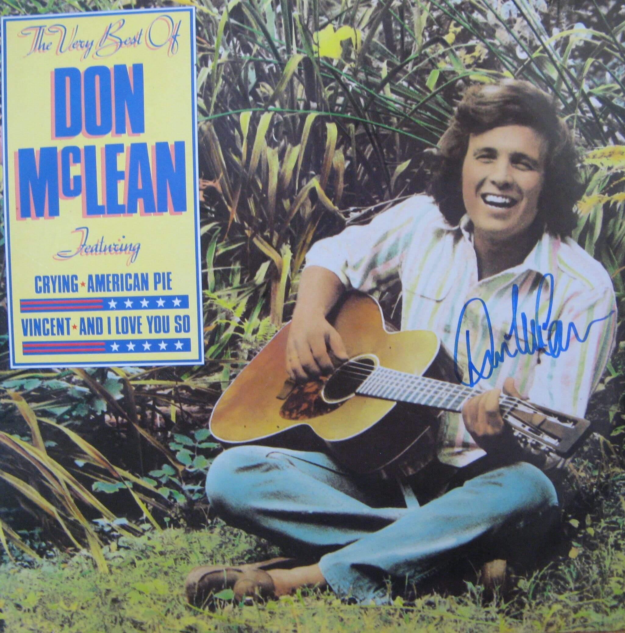 Presley Collectibles 187 Don Mclean