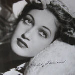 Very rare hand signed Dorothy Lamour black and white promo photo