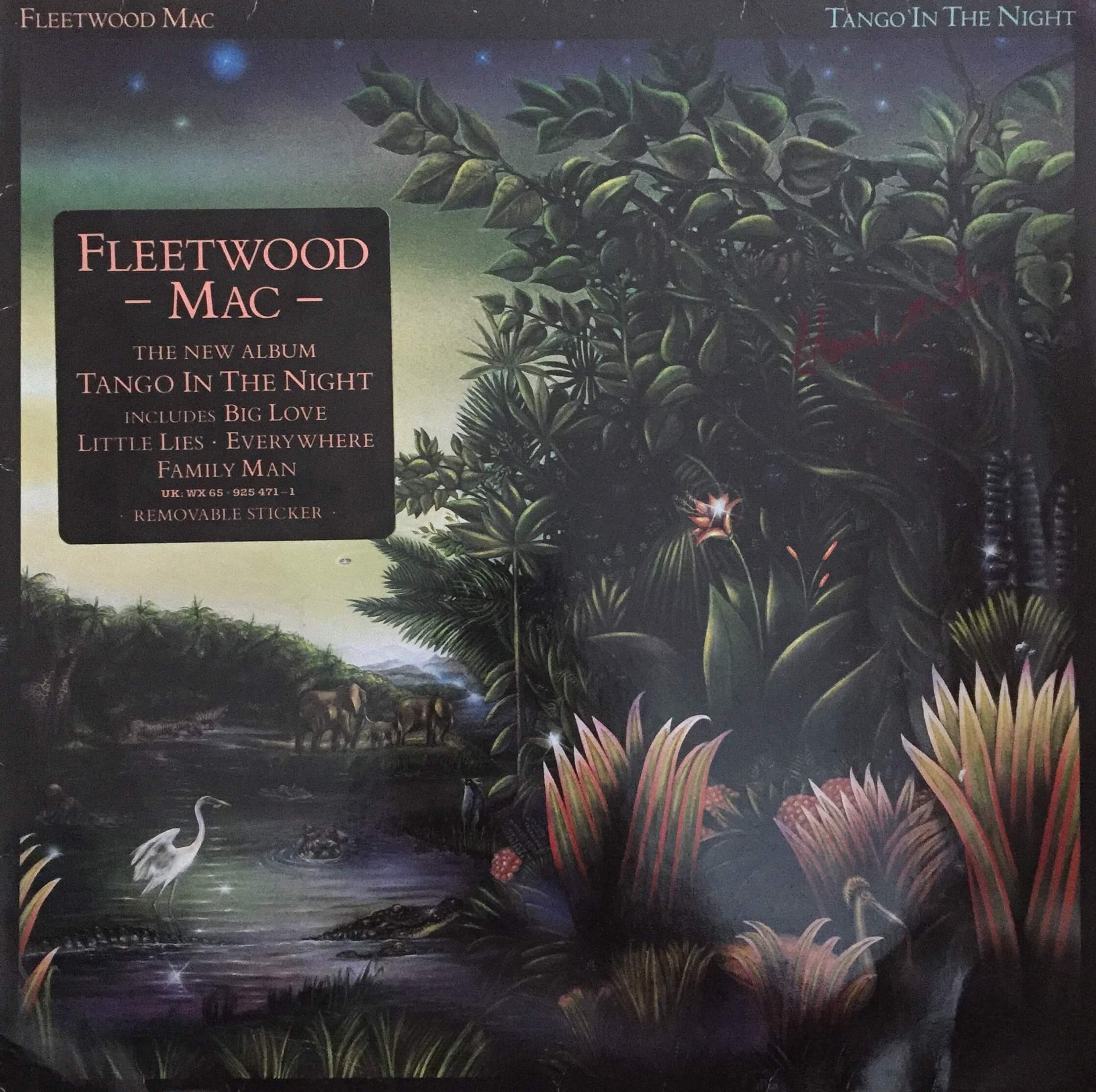 Fleetwood Mac Stevie Nicks Hand Signed Tango in The Night LP ...