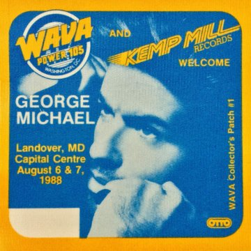 Rare George Michael Unused 1988 Collector's Patch