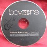 Keith Duffy Hand Signed Boyzone Back Again CD