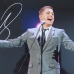 Michael Buble Signed 8x6 2
