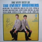 Phil Everly hand signed The Very Best Of The Everly Brothers LP