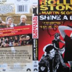 "Ronnie Wood hand signed The Rolling Stones ""Shine A Light"" DVD Cover"