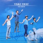 Hand signed Take That CD