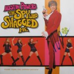 The Spy Who Shagged Me OST CD hand signed by Mike Myers