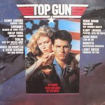 Top Gun OST CD hand signed by Tom Cruise