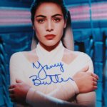 Yancy Butler hand signed colour promo photo