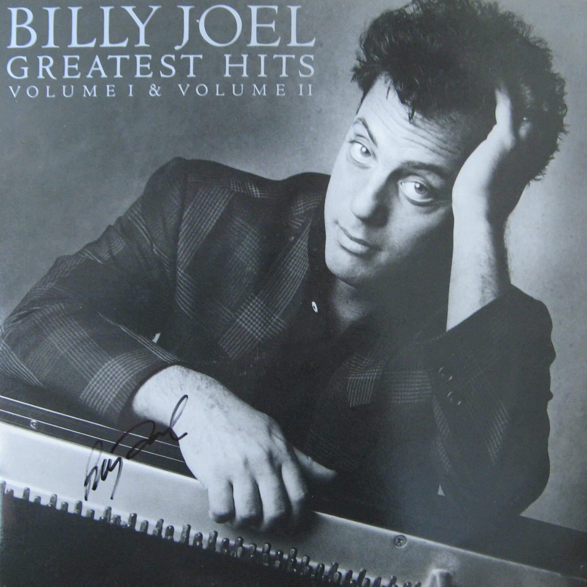 "Greatest Hits Vols 1 2 Billy Joel: Leo Sayer: ""Just A Boy"" LP - Autographs"