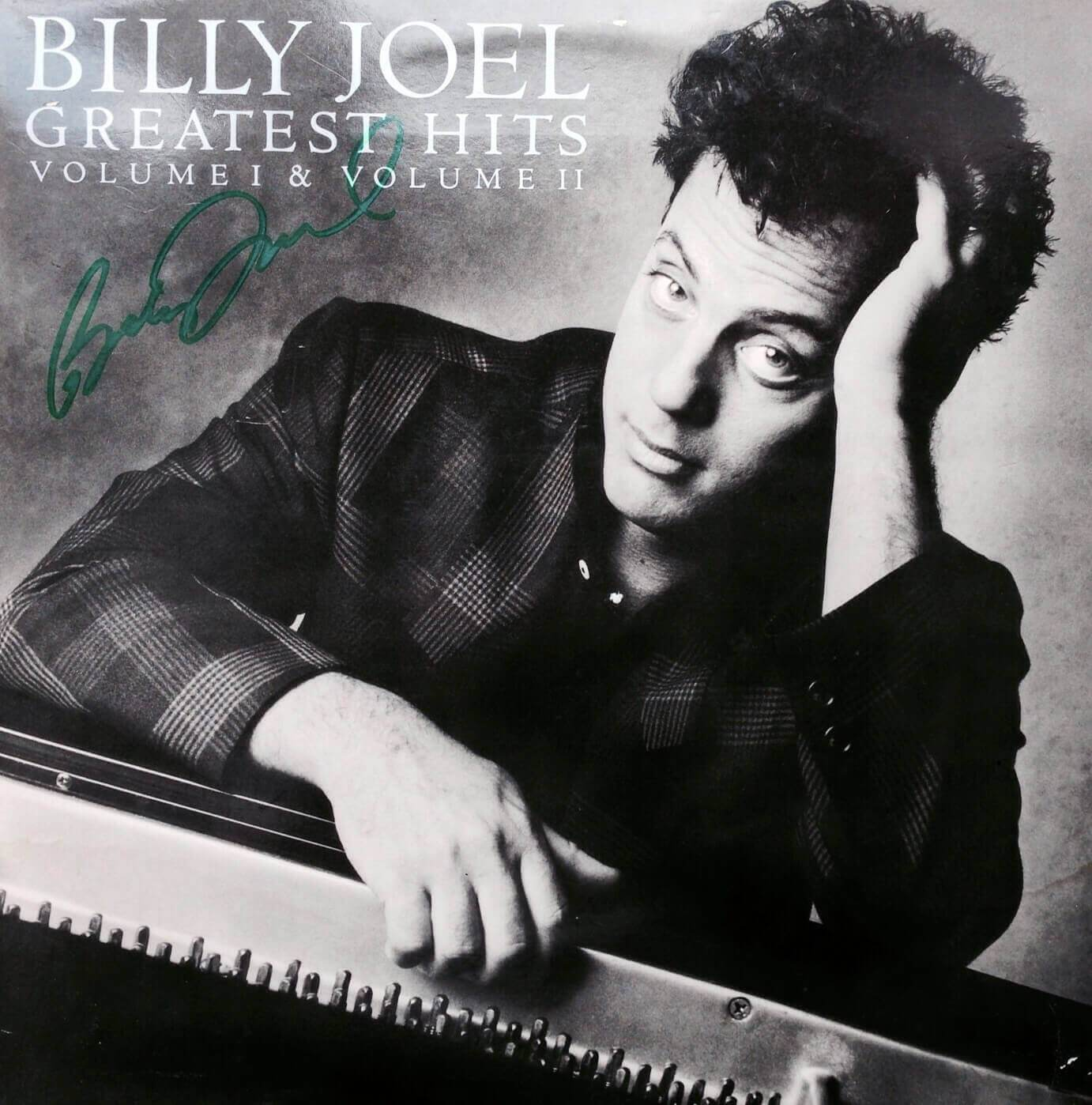 Michael hutchence autograph hand signed listen like thieves lp billy joel hand signed greatest hits volume i volume ii lp17500 nvjuhfo Gallery
