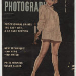 "Virginia Mayo Hand Signed ""Modern Photography"" Cover"